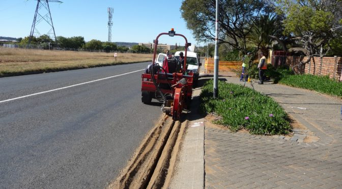 RAUBEX INFRA BRINGS FASTER CONNECTIONS TO BLOEMFONTEIN HOMES