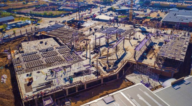 CONCOR BUILDINGS REPORTS MALUTI CRESCENT PROJECT WELL UNDER WAY