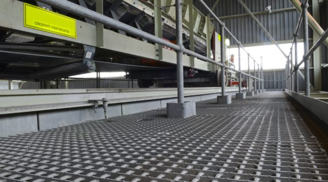 DURABLE GRATING FOR INDUSTRIAL FLOORING SOLUTIONS