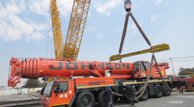 JOHNSON CRANE HIRE ROLLS OUT ITS OWN 'BIG FIVE'