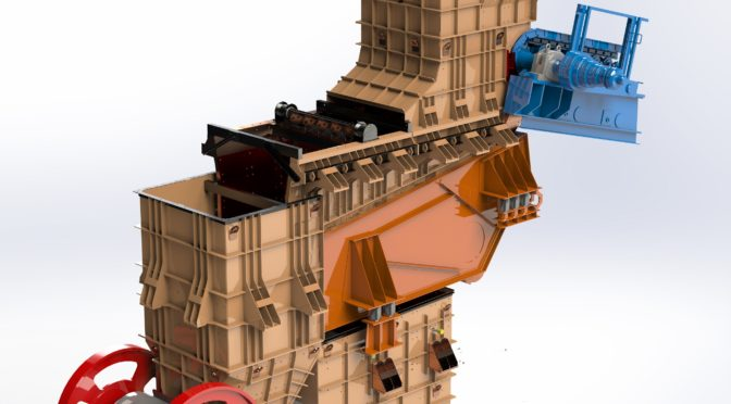 WEBA CHUTE MECHANISM SAVES COSTS, DOWNTIME AT DIAMOND MINE