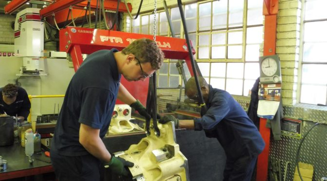 LOCAL REMANUFACTURE OF GAS ENGINE COMPONENTS SAVES TIME, MONEY