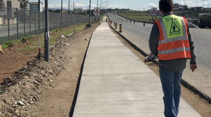 CONCOR BOOSTS SAFETY AND TARGETED ENTERPRISES IN EASTERN CAPE ROAD PROJECT