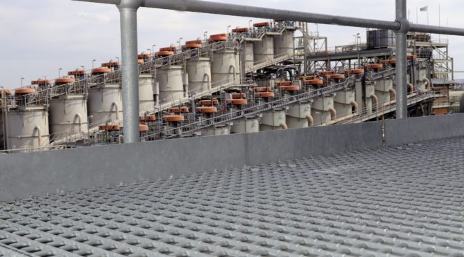 SAFETY FIRST WITH DURABLE MENTIS FLOOR GRATING