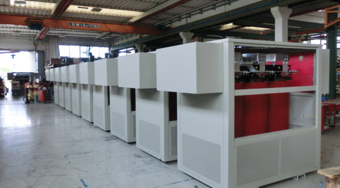 TRAFO'S CAST RESIN TRANSFORMERS READY FOR ACTION AT ZUIKERBOSCH