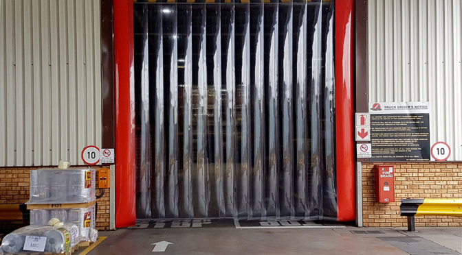 APEX STRIP CURTAINS CHOSEN AT COCA COLA BEVERAGES SOUTH AFRICA WADEVILLE FACILITY