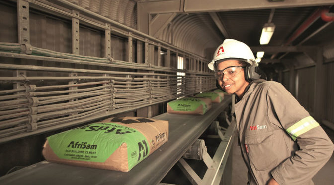 AFRISAM ENCOURAGING APPROPRIATE BEHAVIOUR OF CEMENT CONSUMERS