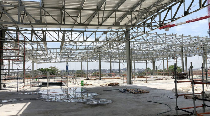 ANTICIPATION GROWS AS CAMEROON'S RECORD-BREAKING MALL TAKES SHAPE