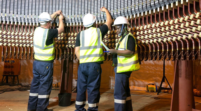M&C COMPLETES SOUTH AFRICA'S LARGEST EVER STATOR REWIND WITHOUT A HITCH