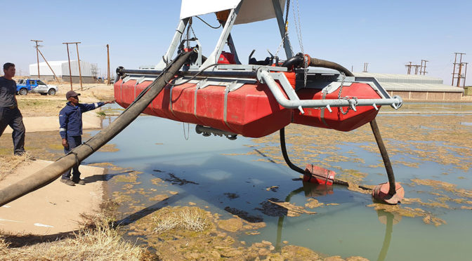 SLURRYSUCKER HELPS FARMER SAVE WATER
