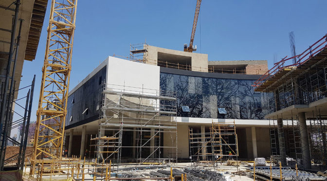 CONCOR BUILDINGS CONSTRUCTING OXFORD PARKS PHASE I