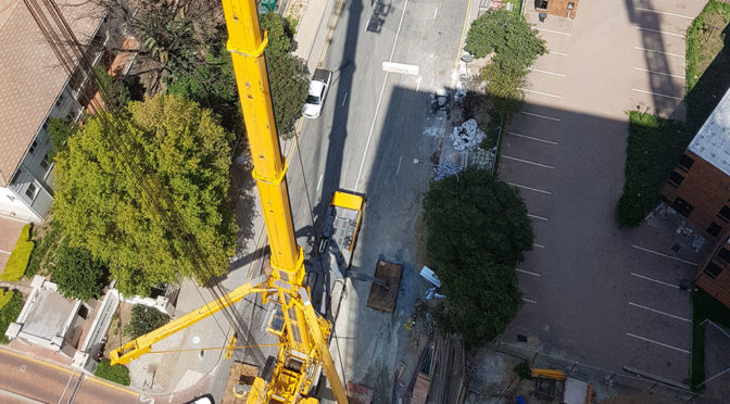 SAFETY DURING TOWER CRANE ERECTION CRITICAL