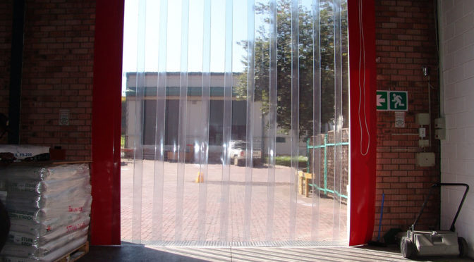 ENHANCING SAFETY IN MANUFACTURING FACILITIES WITH STRIP CURTAINS