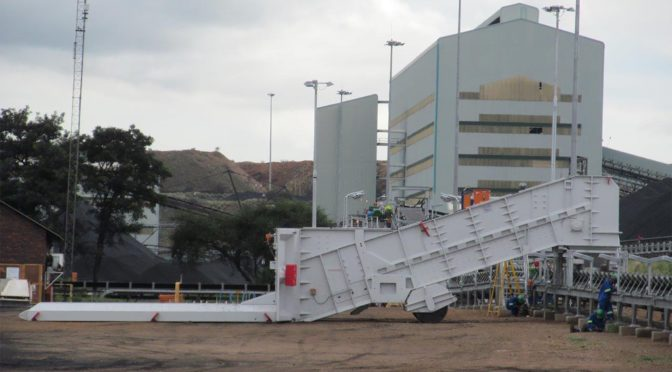 SOUTH AFRICAN-BUILT FLSMIDTH FEEDER BREAKER EXCELS IN CHILE