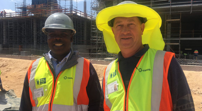HEALTH & SAFETY KEY DRIVERS FOR CONCOR AT OXFORD PARKS PROJECT
