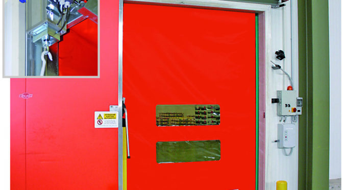 GET SMART WITH ROLL-UP DOORS THAT RESET THEMSELVES