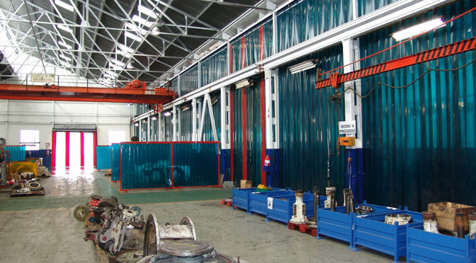 BETTER FLOW OF WORK WITH APEX STRIP CURTAINS