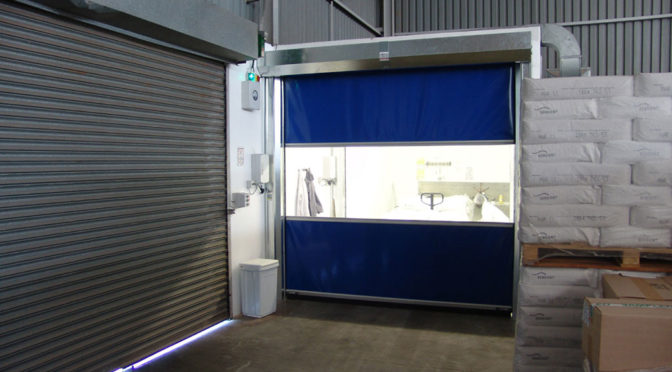HIGH SPEED DOORS CAN REDUCE ENERGY COSTS
