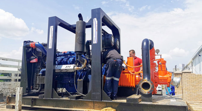 RAPID DEWATERING SOLUTION PROVIDED ACROSS BORDER