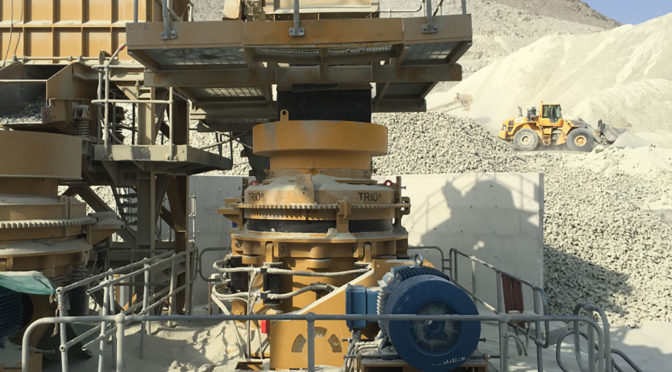 TRIO® CONE CRUSHERS BOOST PLANT CAPACITY IN OMAN