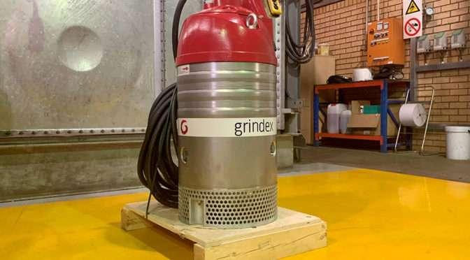 GRINDEX MAXI TO STEELPOORT PLATINUM MINE