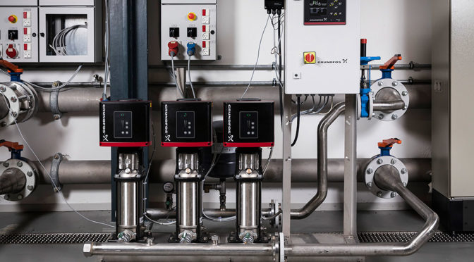INTELLIGENT WATER BOOSTING SYSTEMS FOR ENERGY SAVINGS