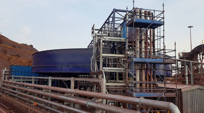 BOLTED THICKENERS FROM FLSMIDTH TO OPTIMISE MOZAMBIQUE PLANT