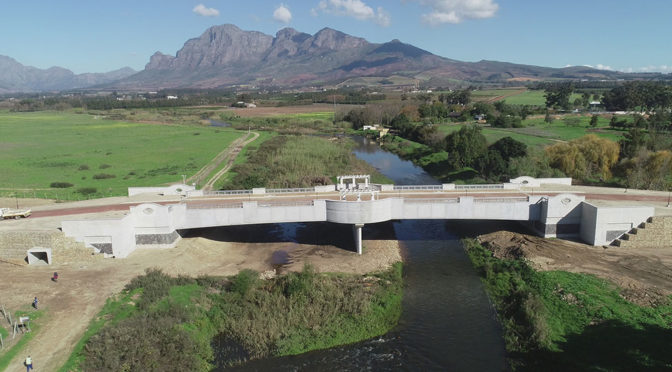 BRIDGE WITH LARGEST PRECAST BEAMS IN WESTERN CAPE RELIES ON CHRYSO
